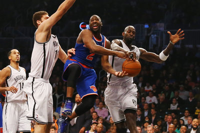 Film Study Part I: Can a Brook Lopez and Kevin Garnett starting lineup work?