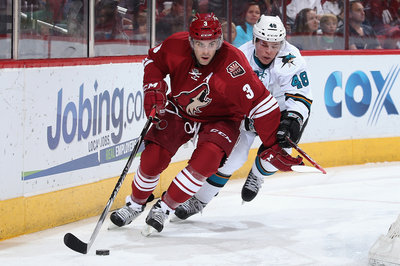 Keith Yandle prepares for another year on the Coyotes blueline