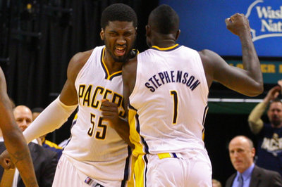 Lance Stephenson did NOT try to ruin Roy Hibbert's wedding day