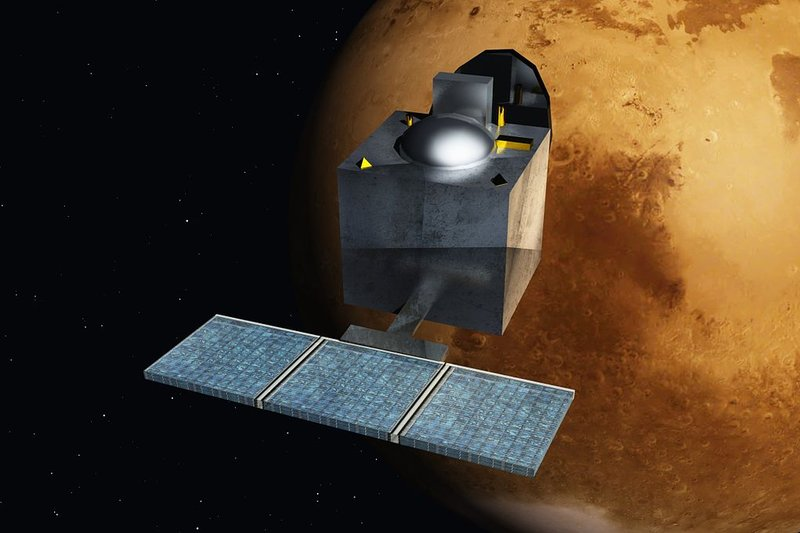 Indian spacecraft reaches Mars for less than it cost to make Gravity
