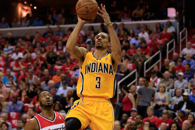 George Hill took one day off before getting back to work in the offseason