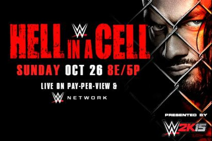 Updated Hell in a Cell Match Card 2014