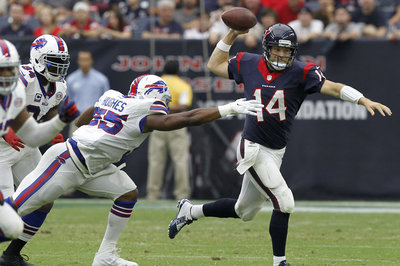 Bills-Texans snap count notes: Jerry Hughes seeing less field time