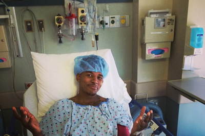 Nick Young's perfect pre-surgery Instragram post