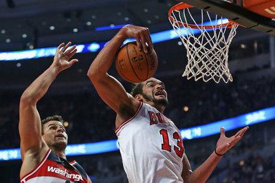 Joakim Noah to miss preseason game against Pistons
