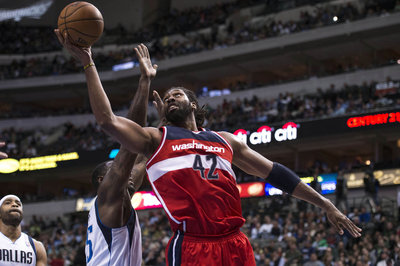 Nene, DeJuan Blair suspended for season opener for leaving the bench