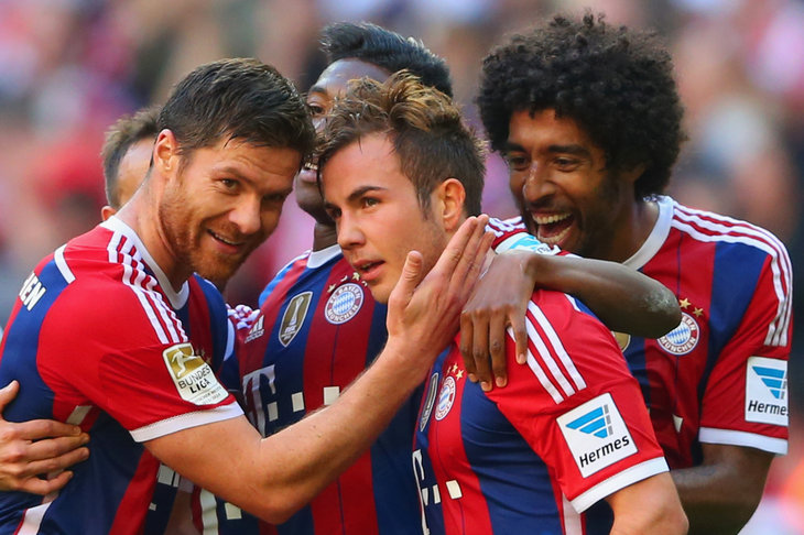 Bundesliga schedule, scores and results from Week 8