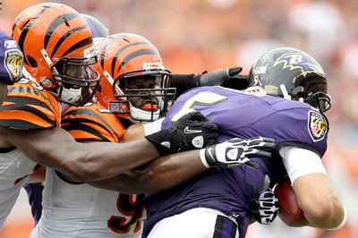 Bengals vs. Ravens: Baltimore on the board with a 45-yard field goal