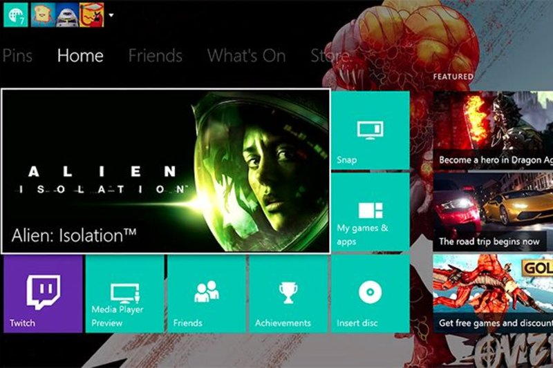 3e99aab58a7156 Major Xbox One update with custom backgrounds and Twitter support is here