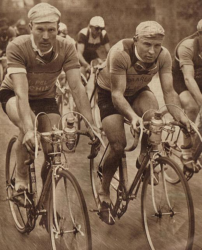 Photo: Jules Lowie, Godfather of Nokere Koerse - Source Unknown.