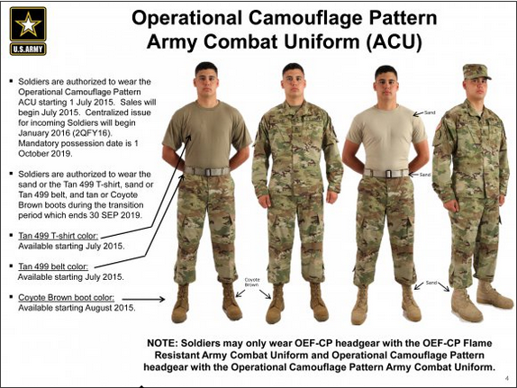 The US Army Introduces a New Camouflage Design 2