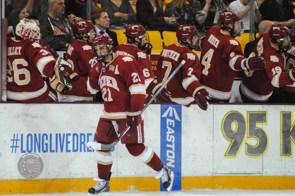 NCHC: Lukosevicius Scores Twice On Power Play In Easy 3-0 Denver Win Ove UMD