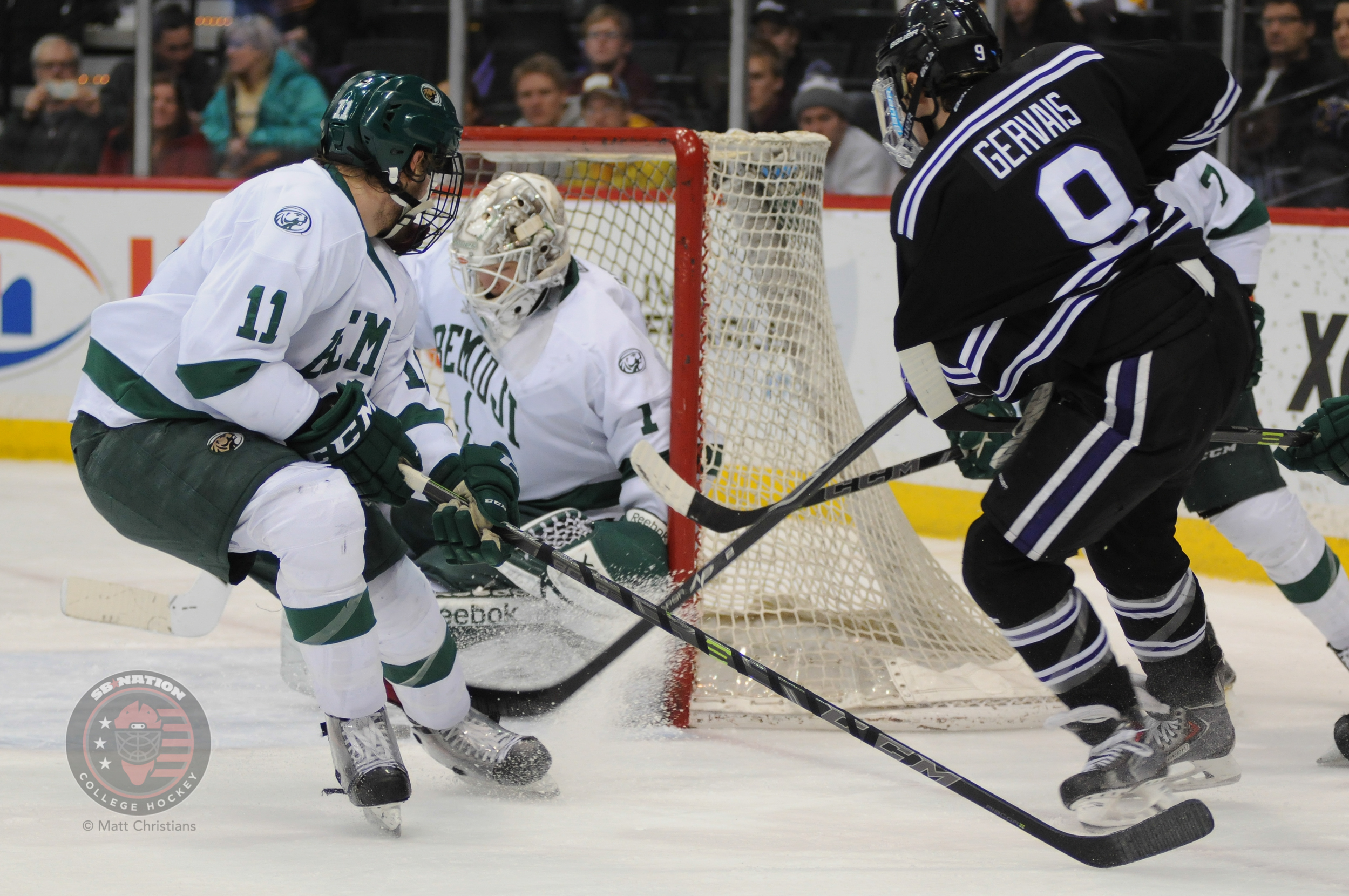 WCHA: Defense Dominating League At The Midway Point