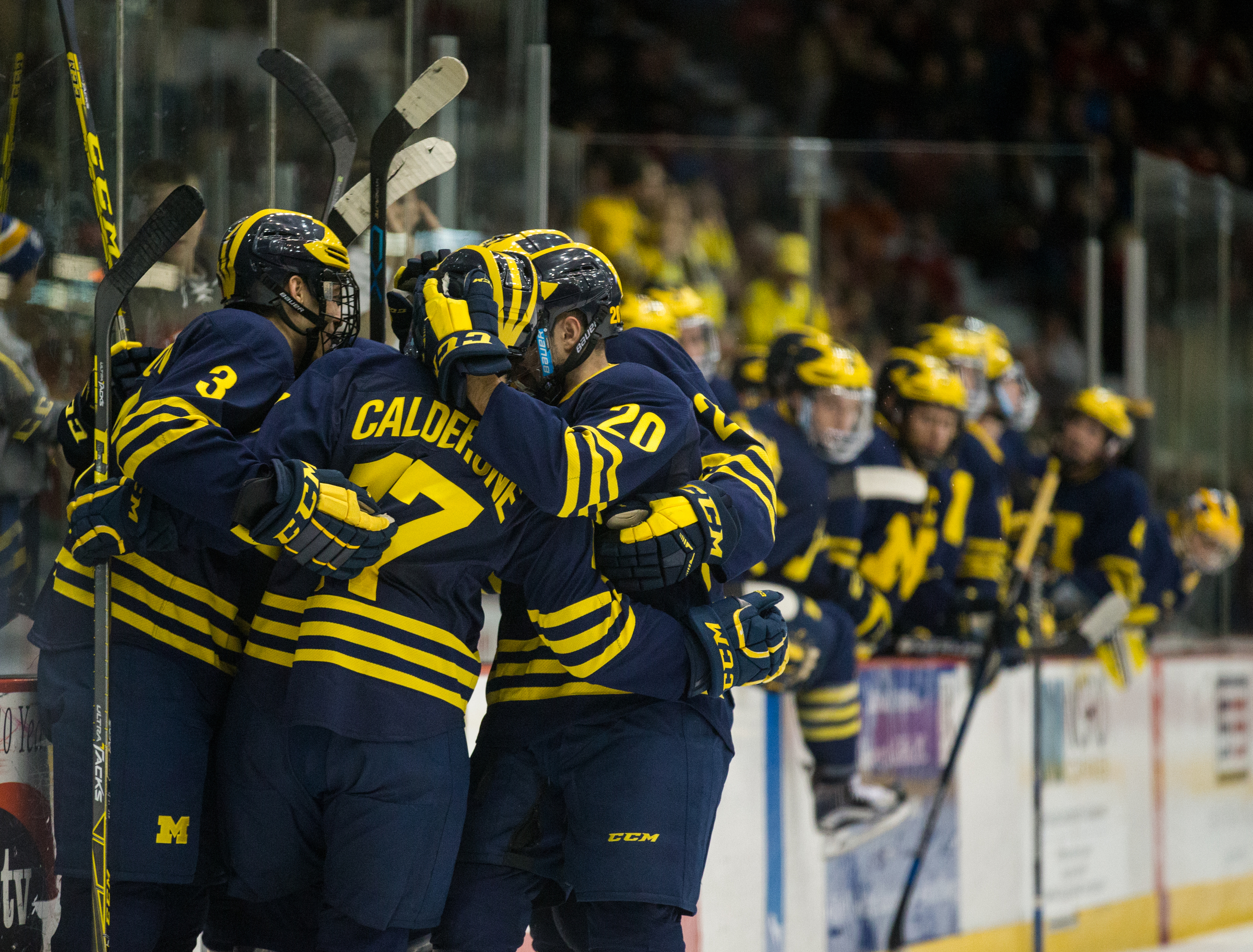 NCAA: Great Lakes Invitational - Big Second Period Leads Michigan To Title