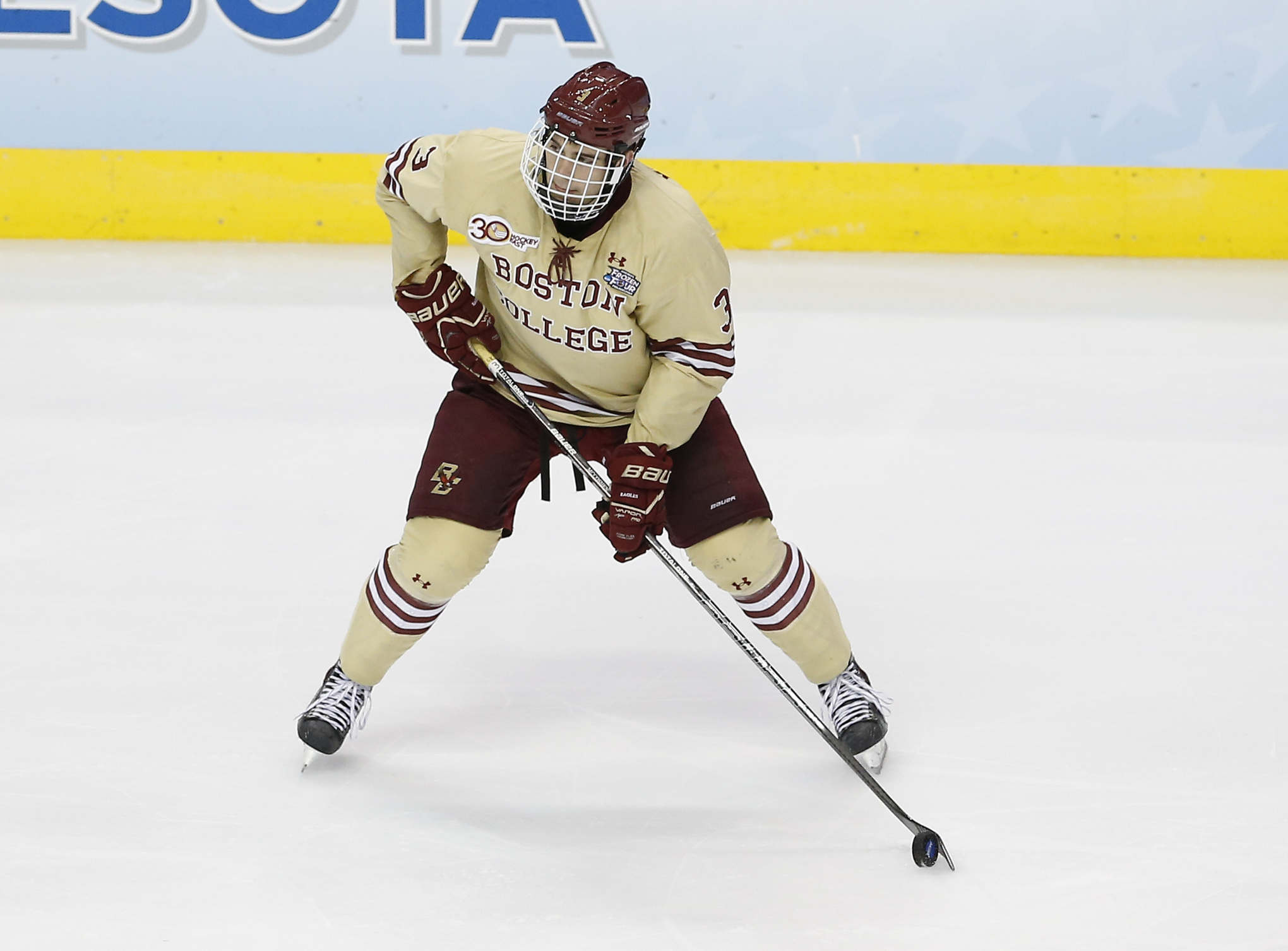 Hockey East: McCoshen A Steadying Force For Eagles