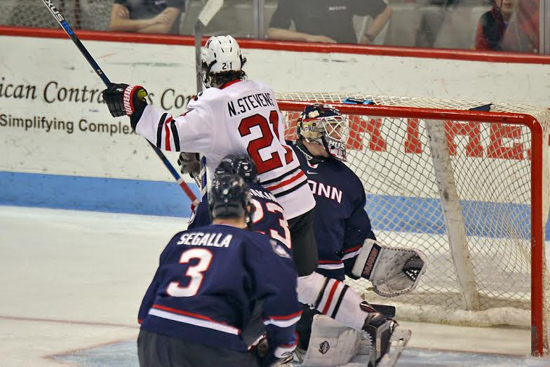 Hockey East: Northeastern Fights Past UConn, Completes Sweep