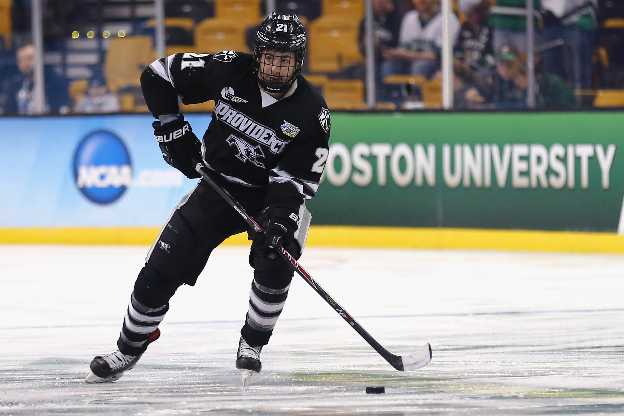 Hockey East: Friars Sweep Irish; Eagles Soar Into First Place