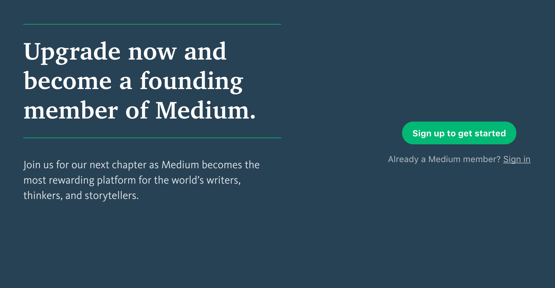 Techmeme: Medium launches memberships for $5/month