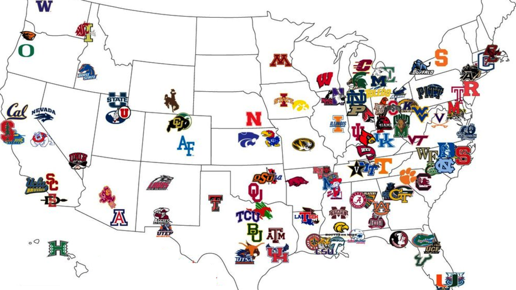ncaa football odds how many division 1 college football teams are there