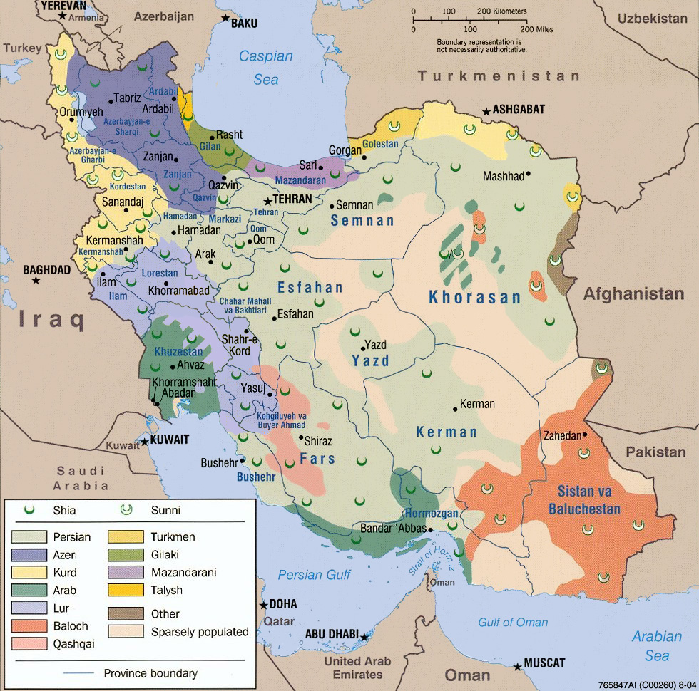 Iran's religious and ethnic diversity