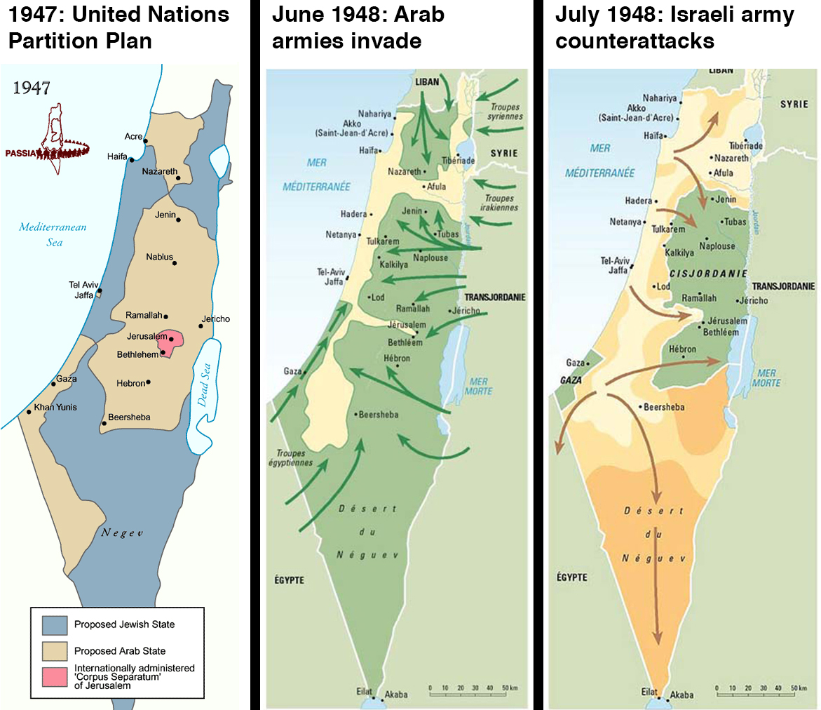 israels 1947 founding and the 1948 israeli arab war
