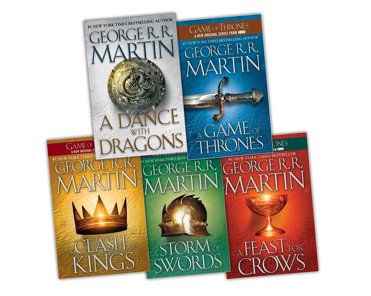 game thrones a book series of