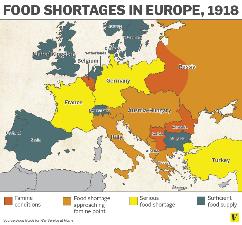 a continent on the brink of famine