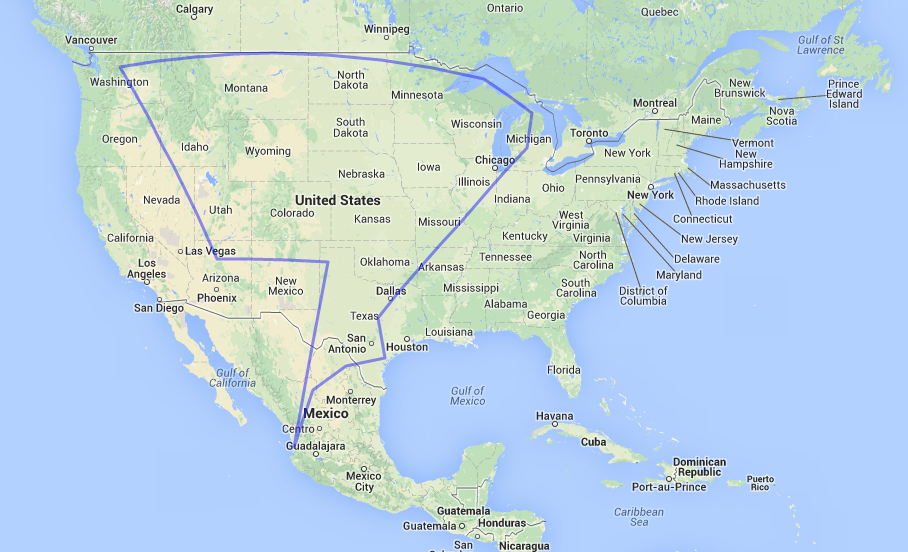 Maps That Explain The World Cup Voxcom - Us to brazil by boat map