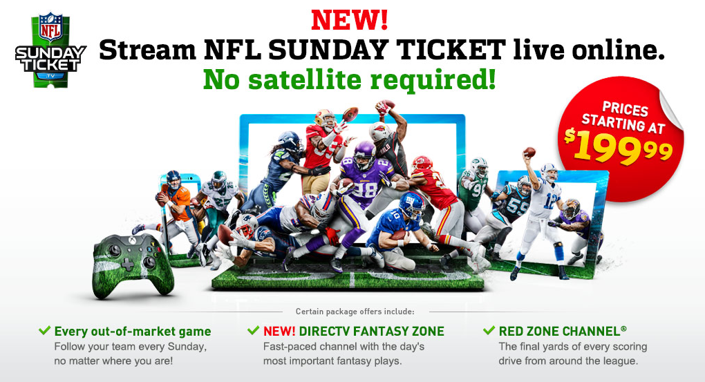 directv's new sunday ticket streaming service isn't 'football for