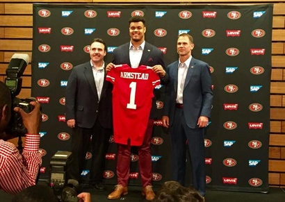 LIMITED San Francisco 49ers Arik Armstead Jerseys