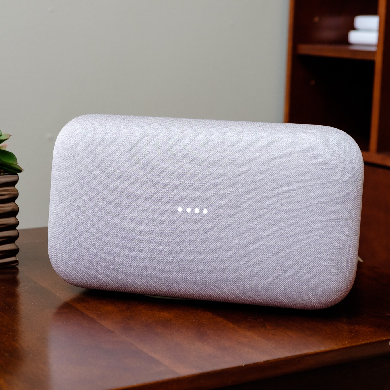 Kết quả hình ảnh cho Google Home Max review: The best (and most expensive) smart speaker