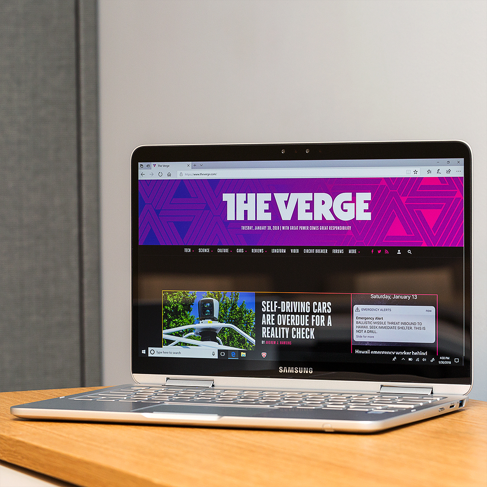 Samsung Notebook 9 Pen Review Too Light For Its Own Good The Verge Circuit Ebay Stuff