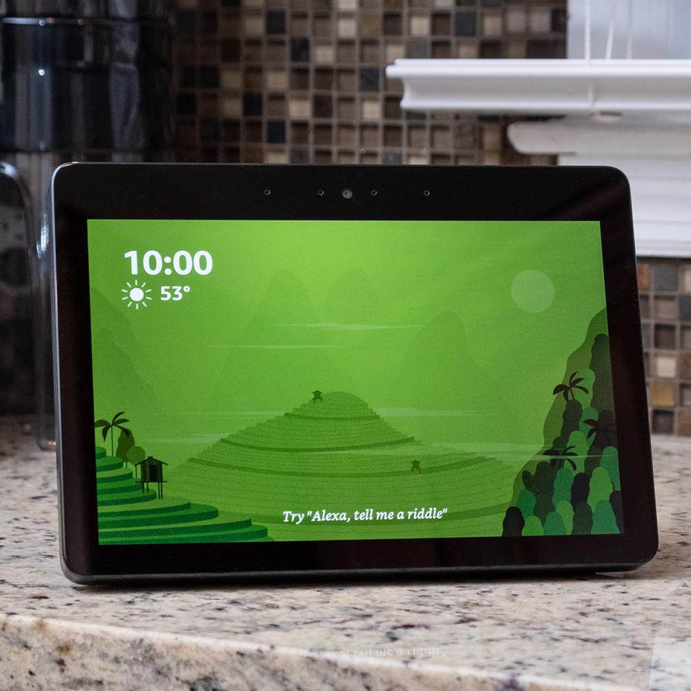 9a538ebc7e263 New Echo Show 2018 review  bigger screen and better sound aren t ...