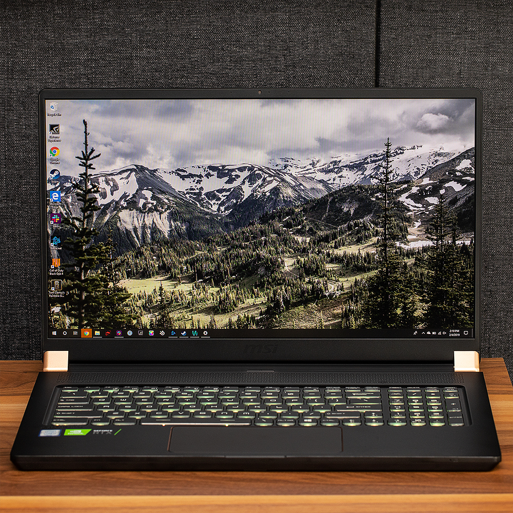 MSI GS75 review: RTX power with RTX prices - The Verge