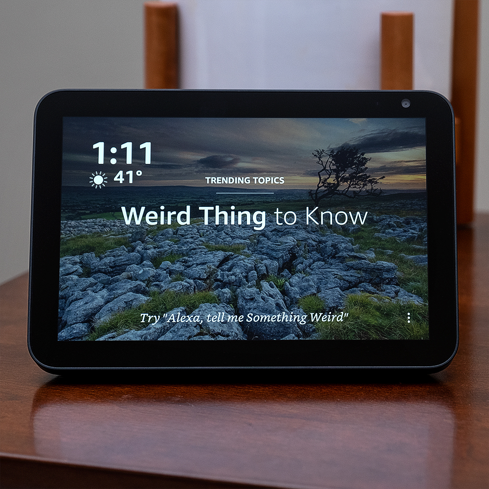 Amazon Echo Show 8 Review Hitting The Sweet Spot The Verge