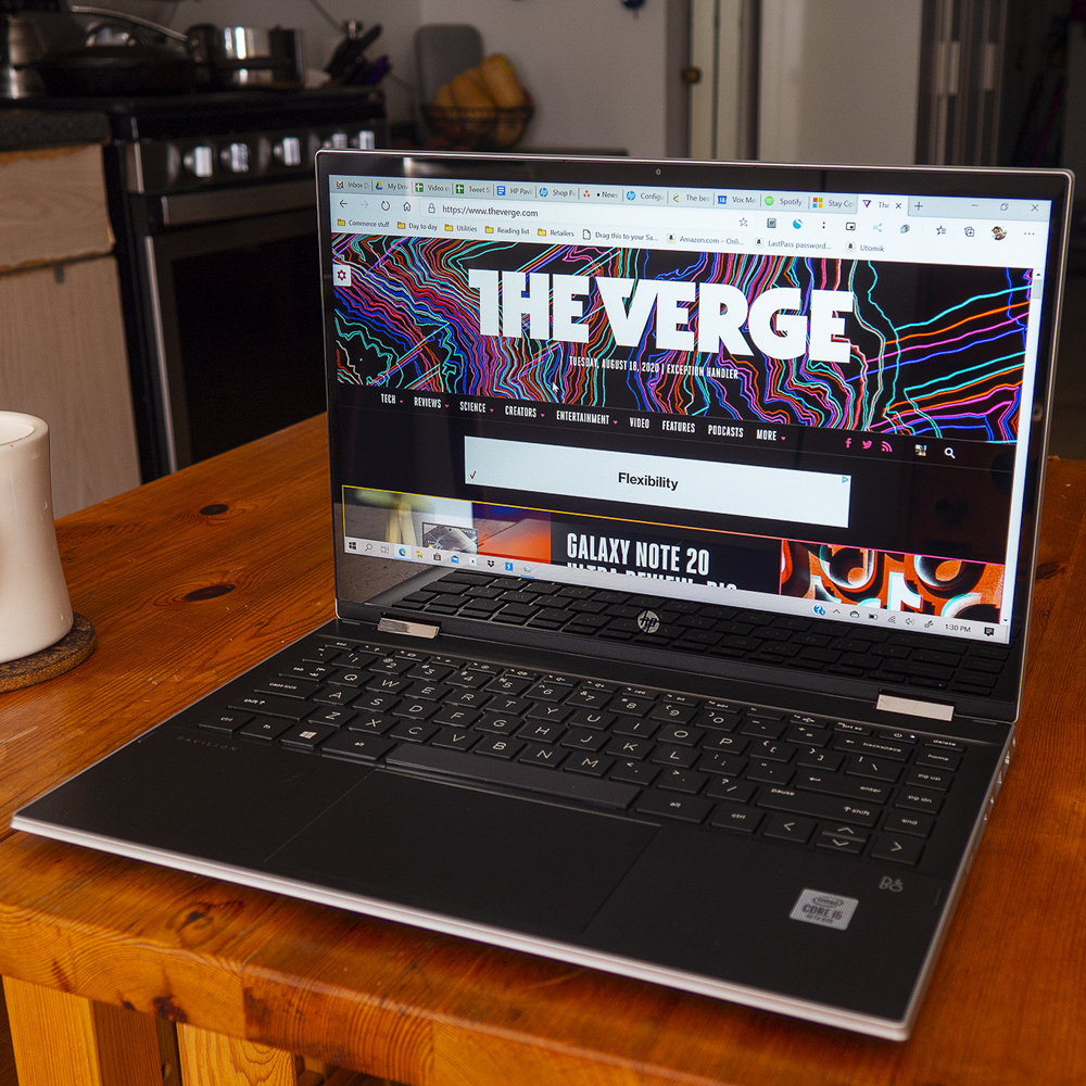 Hp Pavilion X360 Review Lte Comes At A Different Cost The Verge