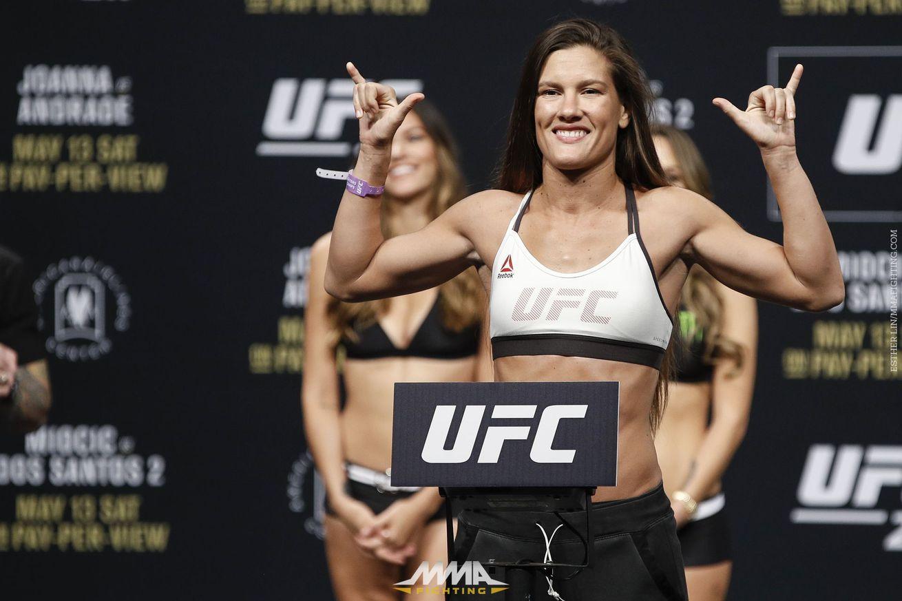 UFC 211 results: Cortney Casey scores impressive win over Jessica Aguilar