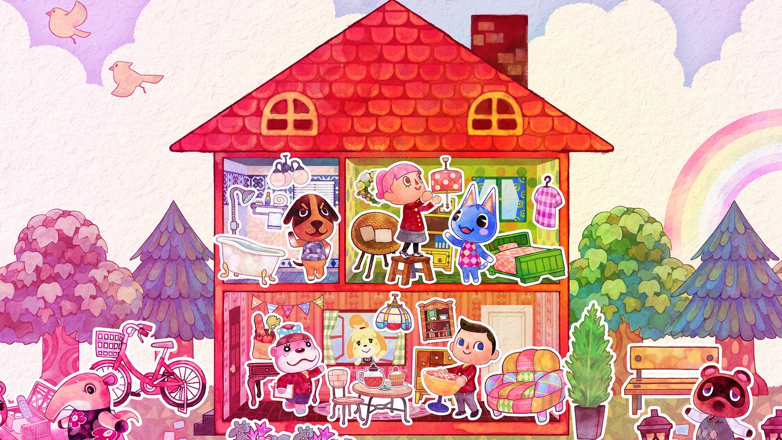 Animal Crossing: Happy Home Designer review: playing house ...