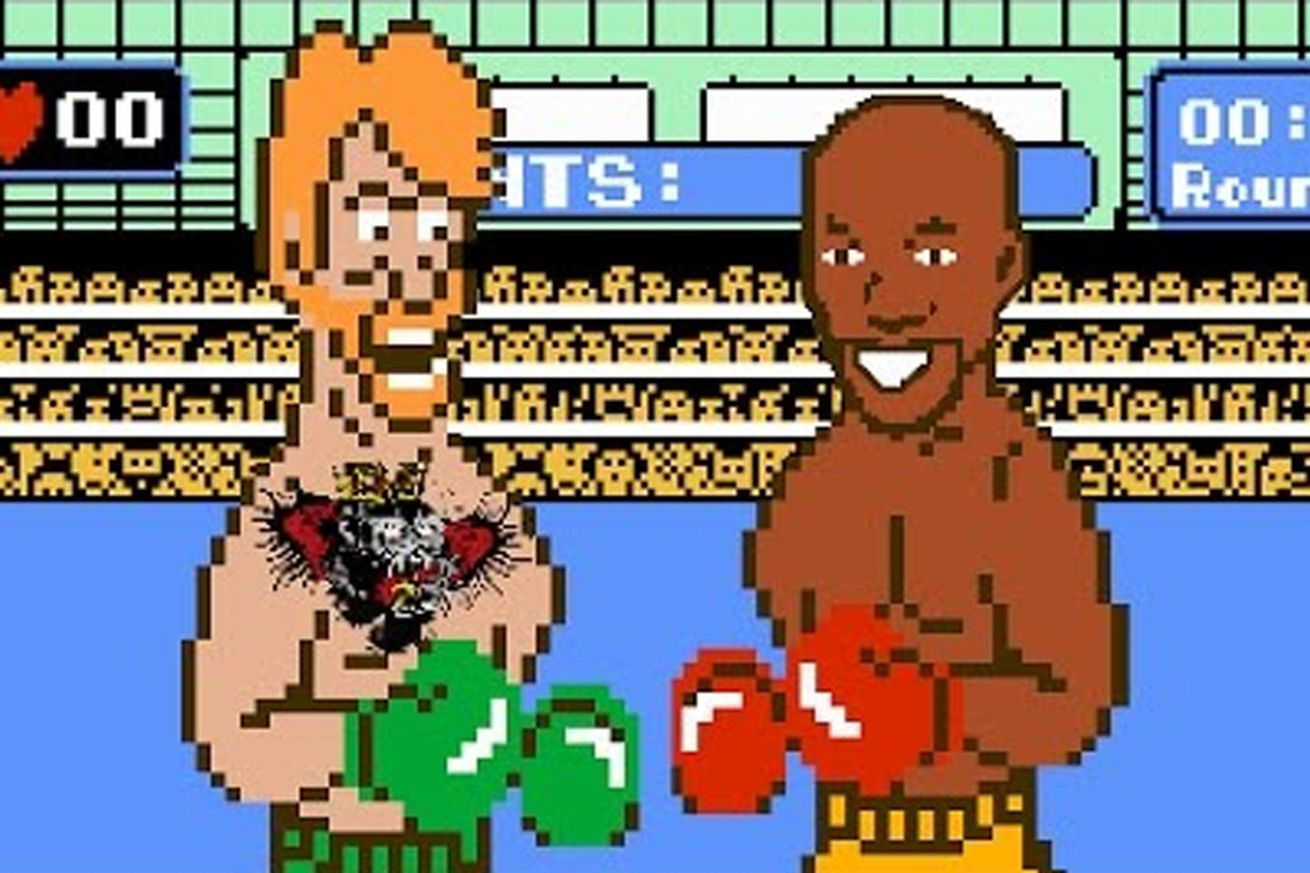 Conor McGregor versus Floyd Mayweather gets a 'Punch Out' remix