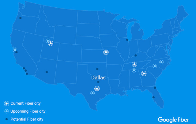 Dallas could be getting Google high-speed internet service