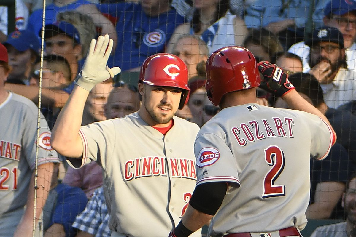 Schwarber, Rizzo, Happ homer as Cubs beat Reds 9-5