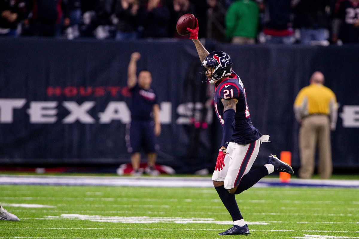 2017 nfl agency texans unlikely to tag a j bouye battle he could be doing this for another team soon jerome miron usa today sports