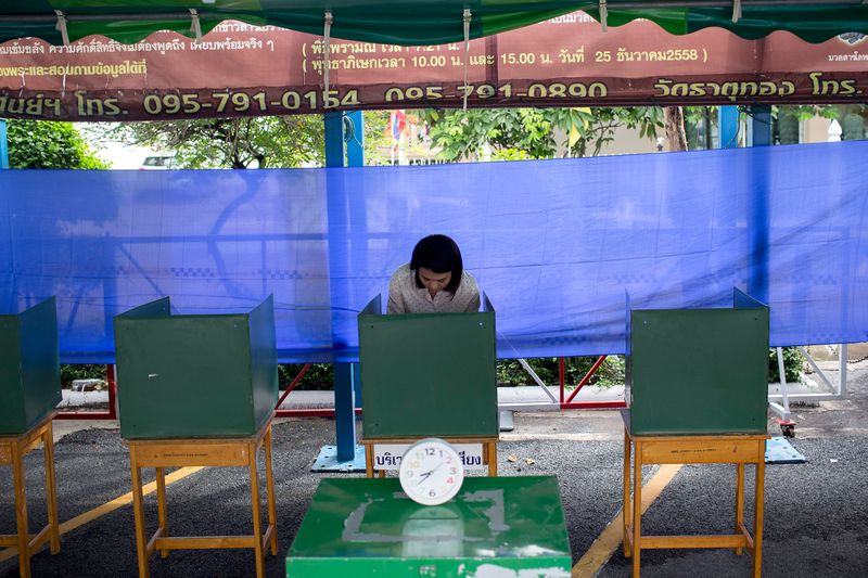 Thailand Holds Referendum On New Constitution