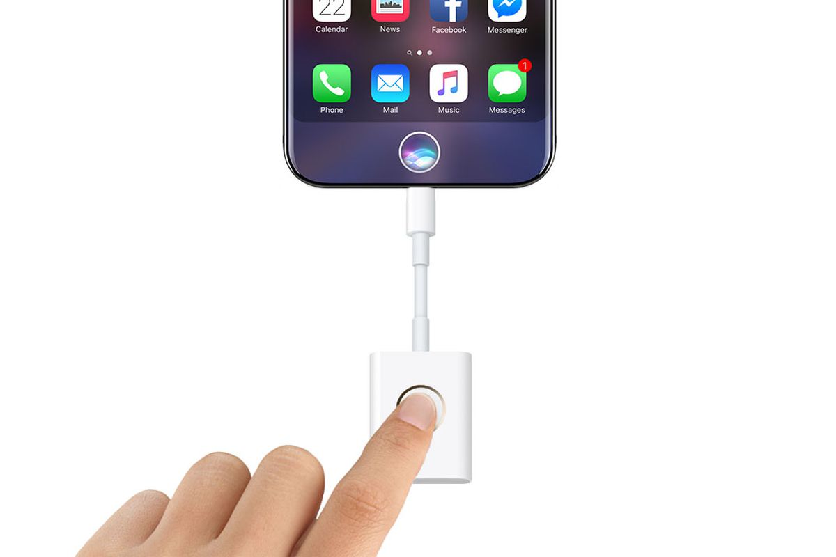Image result for You'll know Apple blew it when it makes a fingerprint dongle