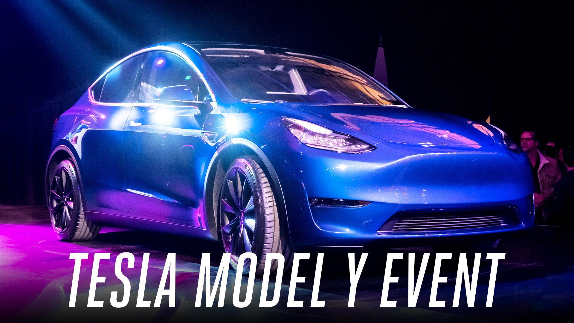 Watch this supercut of Elon Musk unveiling Tesla's new Model