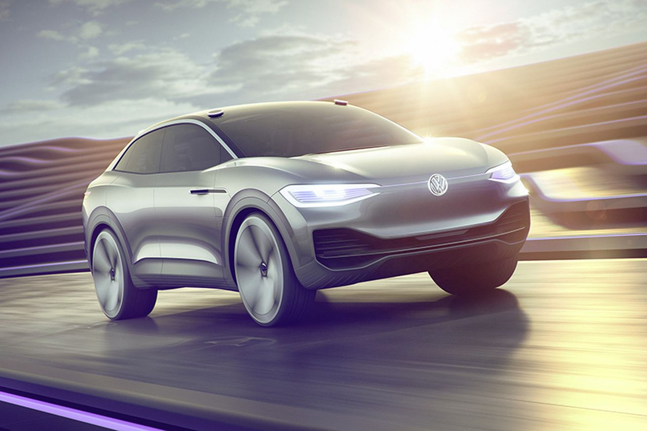 Volkswagen's I.D. Crozz is a sharp electric concept with a terrible name