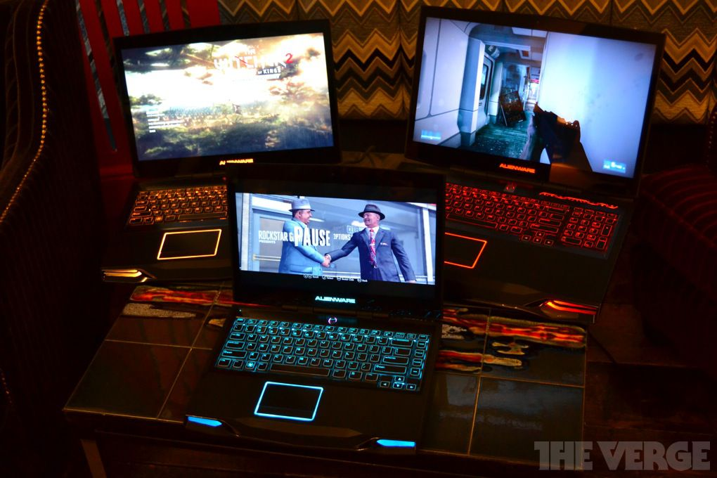 Alienware Refreshes M14x M17x And M18x Gaming Laptops