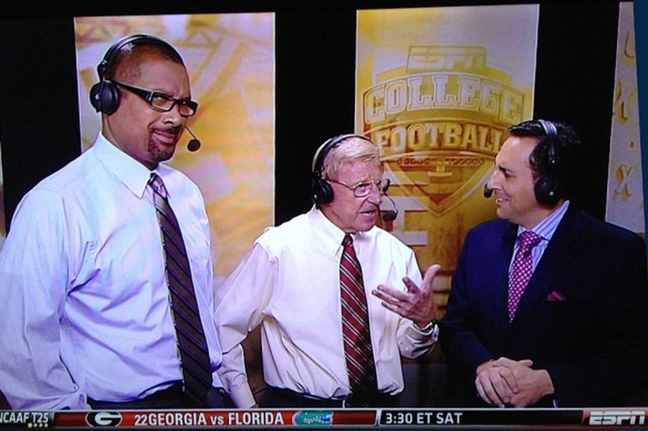 Mark May no longer on ESPN's 'College Football Final,' per ...