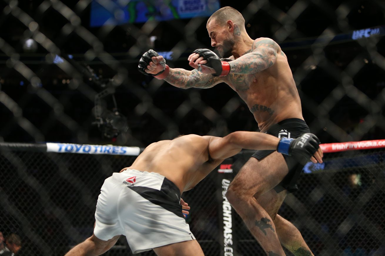 Dana White says CM Punk's next fight probably shouldn't be in UFC
