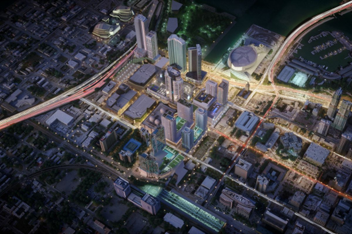 Paramount Miami Worldcenter Unveils New Renderings Of Retail Component Curbed Miami